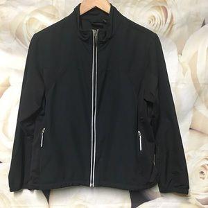 Tek Gear medium running jacket Vented Black